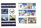 AD19 1973 GB CHRISTMAS FDC British Forces Postal Service FPO 1st Day Cover