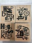 Stampin Up Retired Alphabet Soup
