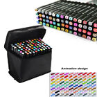 80 Colors Artist Dual Head Sketch Un Copic Markers Set For School Drawing Sketch