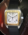 Cartier Santos 100 XL Chronograph 18k Yellow Gold/Steel Watch Box/Papers 2740