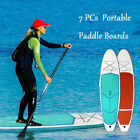 Portable Inflatable Paddle Boards Surfboard Stand Up Backpack Kit Surfing Racing