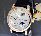 A. Lange & Sohne 18k Rose Gold Moonphase 38mm Watch Box/Papers 109.032