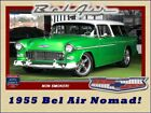 Bel Air/150/210 Nomad 1955 Chevrolet Bel Air Nomad Green Wagon 8 Manual
