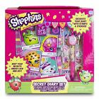 Shopkins Girls Diary With Pen Lock Key Stamp and Stickers Keepsake Memories