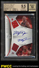 2006 SP Game Used Dual Michael Jordan LeBron James AUTO PATCH 15 BGS 9.5 (PWCC)