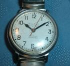 Vintage Bulova Accutron Railroad Approved SS Mans Watch - M7 - Parts/Fix