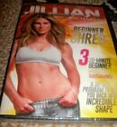 NEW Jillian Michaels Beginner Shred DVD 2014 3 20 Minute Beginner Workouts