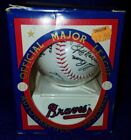 New In Box Official Major League Autographed Baseball 1992 Atlanta Braves MLB