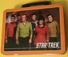 Star Trek Original Cast Metal Tin Lunchbox Lunch Box Tote Container 2009 New MIP