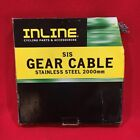 VINTAGE INLINE SIS GEAR BRAKE CABLES STAINLESS STEEL 2000MM BMX FREESTYLE RACING