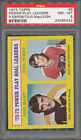 1973 74 Topps #6 Power Play Leaders P. Esposito R. MacLeish PSA NM-MT 8 *5422