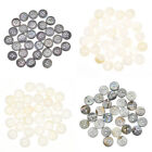 30 pcs 12mm Shell Bottons 4 Hole 2 Hole Round Sewing Fasteners DIY Sewing Craft