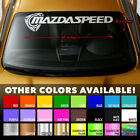 Mazda Rotary Mazdaspeed Rx7 Rx8 Windshield Banner Vinyl Decal Sticker 40x8.5