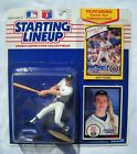 1990 Kenner Starting Lineup Matt Nokes Figure & Rookie Card Tigers NIB New SLU