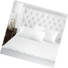 Beckham Hotel Collection Microfiber Mattress Pad - Quilted, Hypoallergnic, and W