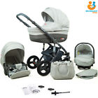 3in1 Baby Pram From Birth Car Seat Carrycot Pushchair Combi Travel System Buggy