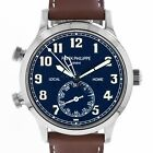 Patek Philippe 5524 Calatrava Pilot Travel Time 5524G-001 18kt White Gold Swiss