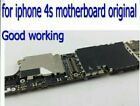 100 Test Iphone 4s MotherboardOriginal Unlocked 16G for iphone 4s Mainboard