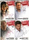 Dexter Season Four Autograph Card Set D4- ACF ADH AJL AMCH Michael C Hall