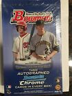 2012 Bowman Baseball Jumbo Box Factory Sealed Three Autos per