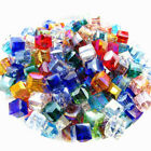 Crystal Square Beads Glass Faceted Loose Beading For Women Jewelry Making DIY