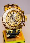 23935 Invicta Subaqua Quartz Chronograph Men 52mm Stainless Steel Bracelet Watch