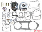Engine Rebuild Kit Cylinder Engine Head Kit for GY6 150cc Chinese Scooter 157QMJ