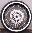 23 35 Fat Front Wheel Chrome Tire Package 08 18 Harley Softail Touring DD WW