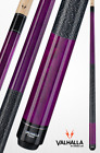 Valhalla by Viking VA117 Purple Pool Cue Stick Linen 16 oz LIFETIME WARRANTY