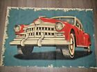 vintage 50s style big American car cotton or mix fabric length / panel
