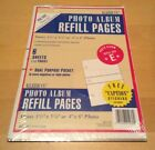 Kleer Vu Photo Safe Photo Album Refill Pages Holds Up To 24 Pages Refill Size E