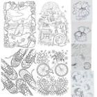 Transparent DIY Clip Card Silicone Rubber Stamp Sling Diary Scrapbook Decoration