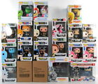 Funko Pop Lot GAMES ANIMATION BROWN HAIR BEAR SDCC FLOCKED EXCLUSIVES + MORE