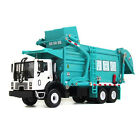 1 24 Scale Diecast Vehicle Material Transporter Garbage Truck Construction Toys