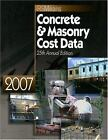 Means Concrete and Masonry Cost Data by Means