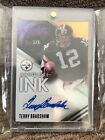 2014 Panini Absolute Ink TERRY BRADSHAW Auto Autograph #1 5 (Steelers) AWESOME!