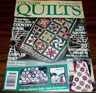COUNTRY QUILTS Fall Winter 1987 Autumn Sampler Quilt Patchwork Projects ++