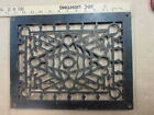 vintage cast iron floor heat grate cover antique victorian decor ornate register