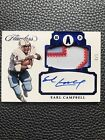 Earl Campbell Panini Flawless Emerald Blue AUTO Patch #1 of 3 MINT!