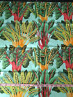 Kaffe Fassett Fabric Chard light blue background GP09 23 OOP Rare