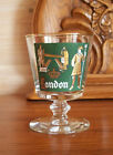 LONDON International Cities of the World Libbey Glass Company Continental Goblet