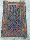 Antique Oriental Tribal WOOL Rug Carpet Baluchi Balouch Persian Handmade 3x2 OLD