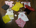 11 Piece Lot Baby Girl Spring Summer Clothes Size 3 6 Months 3 6M NWT