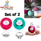 Best Deal Bath Bombs Bath Fizzy In Premium Quality With 2 Rings Surprise Inside