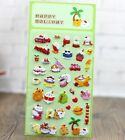 Tomato Rabbit Paradise Foam Stickers for Diary Children Kids Rewards Toys Gift