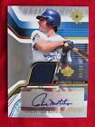 2004 UD Ultimate Game PAUL MOLITOR AUTO GAME WORN JERSEY #49 50