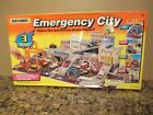 1994 Matchbox Emergency City Action Play Set w Sounds Opened