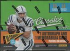2018 PANINI CLASSICS FOOTBALL HOBBY BOX FACTORY SEALED NEW