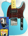 Fender MIM Limited Edition 50 Telecaster Tele Electric Guitar Lake Placid w OHSC