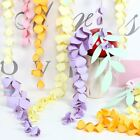 Floral Reef Hanging Paper Wisteria Flower Garland Event Wedding Party Decoration